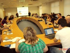 """Školení zaměstnanců Úřadu, """"Návrh a vytvoření úprav webu ČTÚ včetně řízení obsahu webu, 6. a 7. 2. 2013, Praha"""
