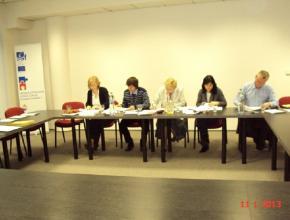 Zasedání hodnotící komise k ZPŘ 012 LRIC model poštovních služeb, 11. 1. 2013, Praha